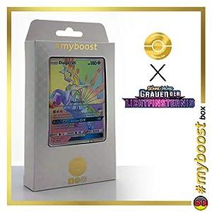 Dialga-GX 138/131 Arcoíris Secreta - #myboost X Sonne & Mond 6 Grauen Der Lichtfinsternis - Box de 10 Cartas Pokémon Aleman