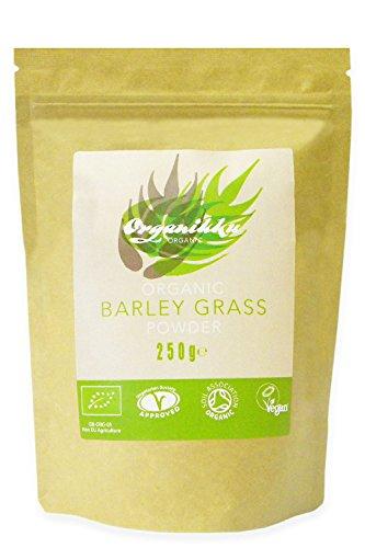 Organikku - Poudre d'herbe d'orge biologique - 250 g