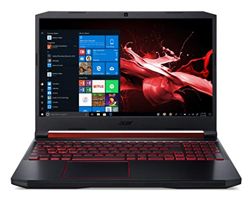 Acer Nitro 5 AN515-54-76RJ Notebook Gaming con Processore Intel Core i7-9750H, Ram da 16 GB DDR4, 1024GB SSD, Display da 15.6' FHD IPS 120Hz slim bezel LCD, Nvidia GeForce GTX 1660Ti, Windows 10 Home