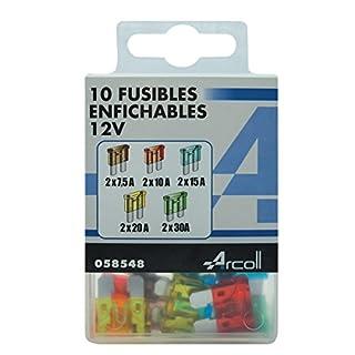 arcoll 58548Plug Fuse Assorted, Set of 10