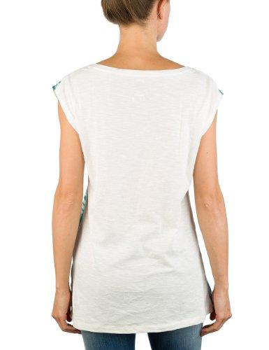 Replay Damen T-Shirt W3547 .000.20760 Weiß (Off White)