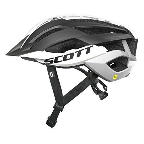 Scott Arx MTB Plus Fahrrad Helm Schwarz/weiß 2018: Größe: M (55-59cm)
