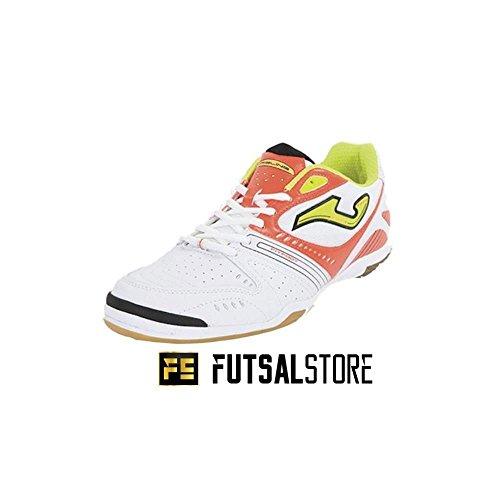 Schuh Futsal Dribling IC Joma Weiß - weiß