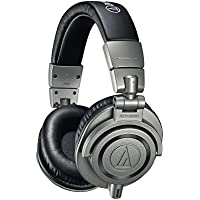 Audio Technica ATH-M50XGM Professional Monitor Headphones, Gun Metal, incl. hard case for headphones