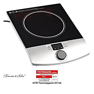 Plaque de cuisson induction 2000 w pour casseroles jusqu 39 200 c ama - Quelle casserole pour plaque a induction ...