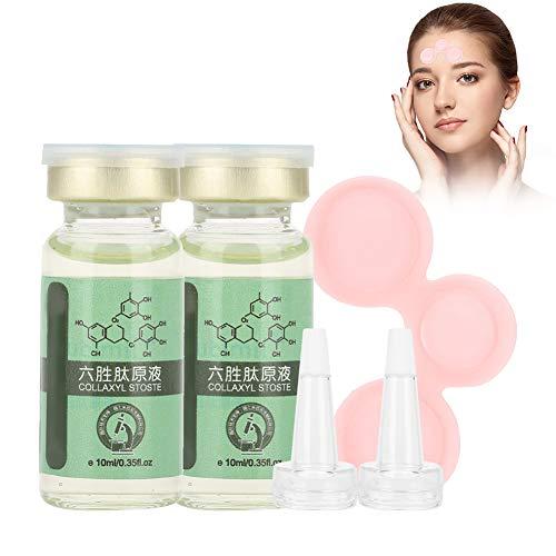 Anti Falten Serum, sechs Peptide Konzentrat Essenz Collagen Repair Gesichts Feuchtigkeitscreme Serum, natürliche Hyaluronsäure Anti-Aging Pflege Creme für Haut, Gesicht, Dekolleté und Körper