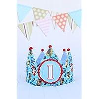 Corona cumpleaños niño patrulla decoración fiesta infantil 12345 números
