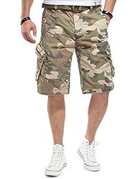 JET LAG Herren Cargo Shorts Take off 3 Modell 16 in schwarz, olive, stone, cement, gold und camouflage