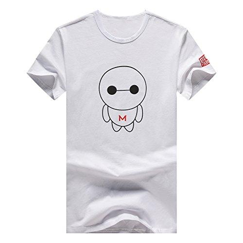 MTTROLI Herren T-Shirt 56 Weiß