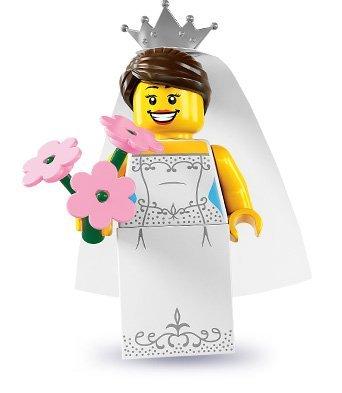 Lego - Mini Figures - 7 Series - Bride
