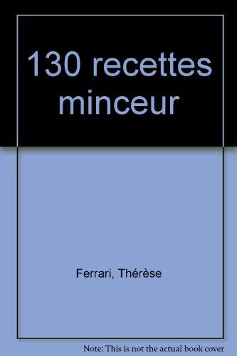130 recettes minceur, réimpression