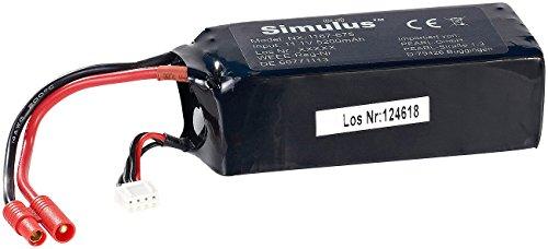 Simulus Ersatz-Akku für QR-X350.PRO