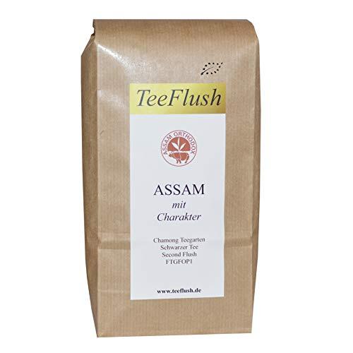 Assam Tee, Second Flush FTGFOP1, Schwarzer Tee lose Bio, 2018, 500g, Geschmack würzig, malzig mit Honigton, Chamong Gruppe-Tonganagaon Teegarten (Würzige Bio-tee)