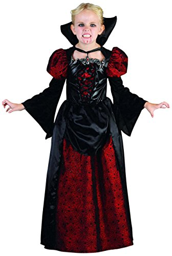Rubie's-déguisement officiel - Rubie's- Costume  Déguisement  Fille  Vampiresse - Taille M  4-6 ans- 454230M