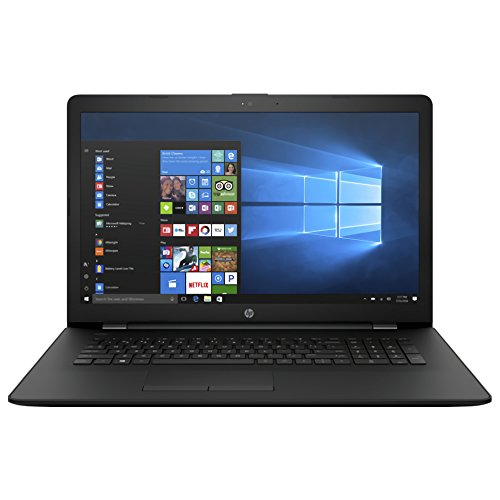 "HP 17-AK004NS - Ordenador portátil de 17.3"" (AMD E2-9000e, 4 GB de RAM, 1 TB de disco duro, Windows 10 Home) negro - teclado QWERTY español"