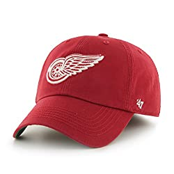 NHL Detroit Red Wings Franchise Fitted Hat, X-Large, Red