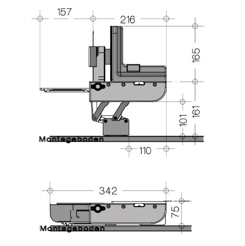 Ritter  MultiSchneider AES 62 SR silber-metallic -