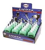 MC-1098K Caja de aceite especial para herramientas neumáticas y engrasadores de linea, equipada con 20 unds de botellines de 100 cc.