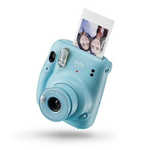 Oferta de Instax 16654956 Mini 11 - Cámara Instantánea, Sky Blue, Compacto