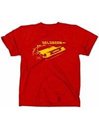 Zurück in die Zukunft Kult T-Shirt, Delorean Motiv