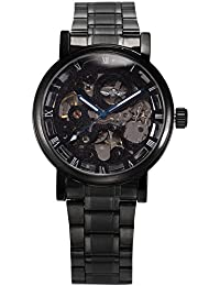 AMPM24 PMW269 - Reloj para hombres, correa de metal color negro
