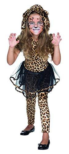 Katzen Kostüm Fasching - Rubie's Kinder Kostüm Leopardin Fahed Gr.