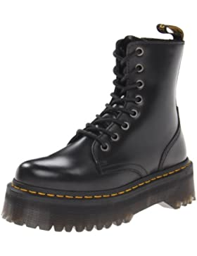 Dr. Martens Unisex-Erwachsene Jadon Black Polished Smooth Combat Boots
