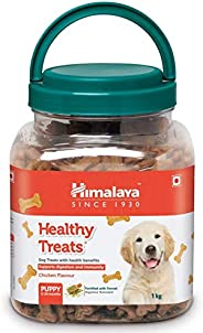 PAWSTIVELY PET CARE Himalaya Healthy Treats Non-Veg Puppy Biscuits with Chicken Dog Treat 1 kg (Pack of 2)