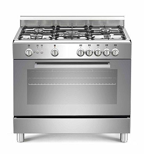 Saro 5flammes Cuisinière à gaz t95C71x