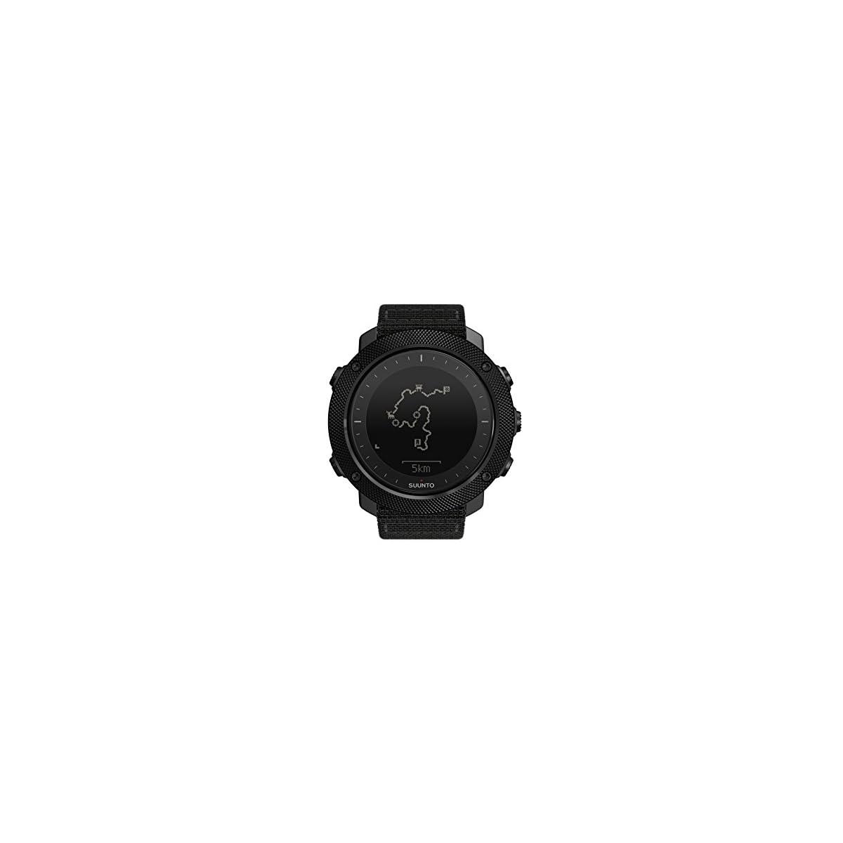 41cDq4YmiZL. SS1200  - Suunto - Traverse Alpha - Reloj GPS Outdoor para pesca, caza y excursionismo - Sumergible - Negro Stealth - Talla única