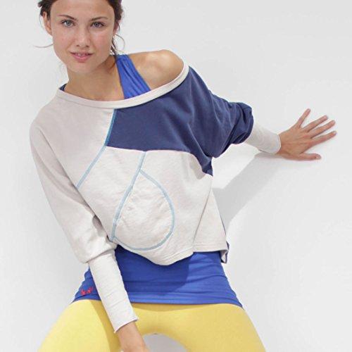Prancing Leopard Damen Fitness Sweatshirt