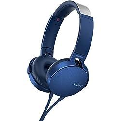 Sony MDRXB550APL Color Azul Auricular con Control y microfono