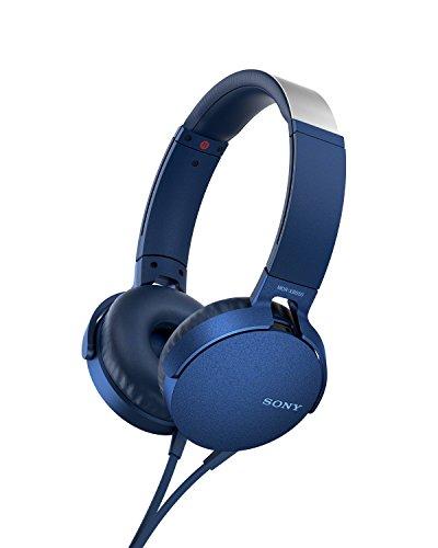 Foto Sony MDR-XB550AP Cuffie Chiuse con Microfono e Comandi per Smartphone in...