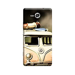 CaseLite Premium Printed Mobile Back Case Cover With Full protection For Sony Xperia SP (Designer Case)