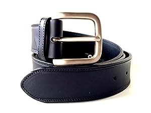 Ceinture cuir homme belt calapiel boucle acier mode fabriquée en Espagne