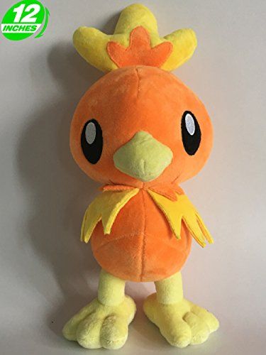 Preisvergleich Produktbild Pokemon Plüsch Torchic/Flemmli/Poussifeu 30cm