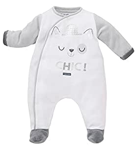Sucre D'Orge - BabyProducts - Masculin - pyjama bebe - Taille 9 Mois - Couleur Gris