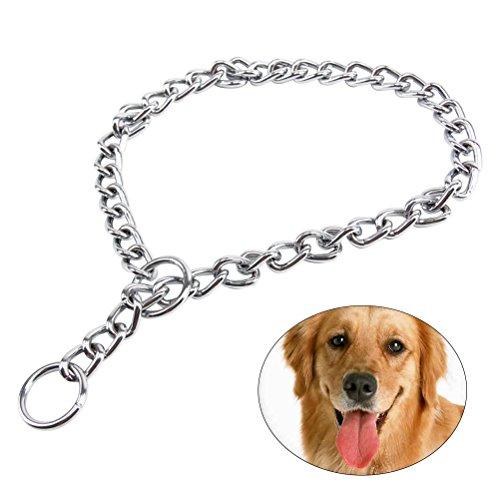 UEETEK Extra schwere Kette Hundeleine Blei, Hundetraini… | 00191579796743