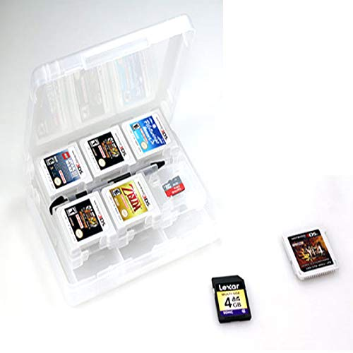 Game Card Case, 28-in-1 Game Card Case für Nintendo Switch 3DS Cartridge Storage Solution Box Weiß