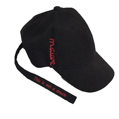 Die Zeit Kinder-baseball-jersey (KanLin Baumwolle Baseball Cap,Baseball Cap Snapback Hip Hop Hat (Black))