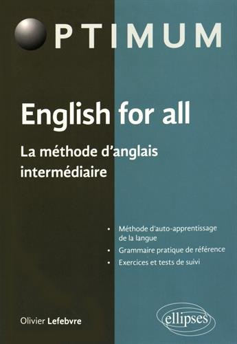 English for All la Méthode d'Anglais Intermédiaire