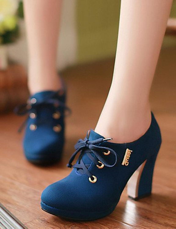 NJX/ hug Zapatos de mujer - Tacón Robusto - Tacones / Plataforma - Tacones - Oficina y Trabajo / Vestido / Casual...