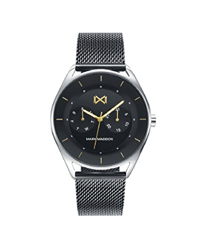 Mark Maddox hm7116 – 57 Watch Man Quartz Steel Ip Black Size 40 mm
