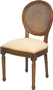 Chaises médaillon (x2)