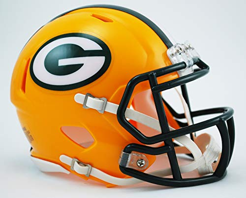 NFL Riddell Football Speed Mini Helm Green Bay Packers