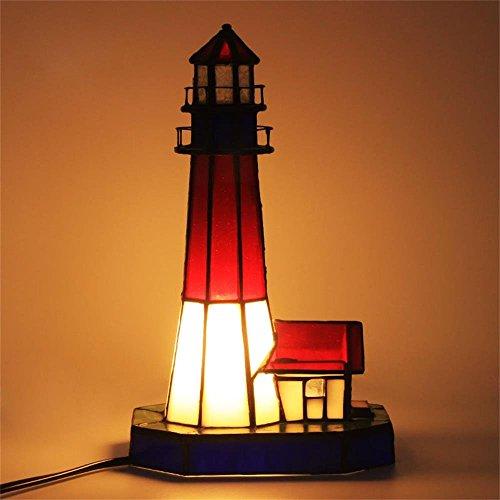Gweat Kreative Europäische Leuchtturm energiesparende Schlafzimmer Nachttischlampe Führte Baby Fütterung Nachtlicht