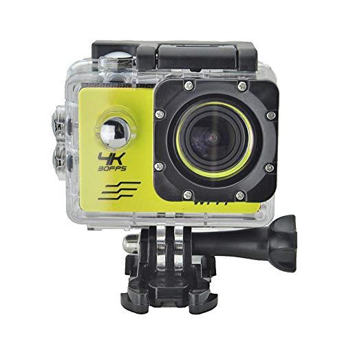 Everpert SJ8000B Action Kamera 4K WiFi 1080P HD 16MP 4X Zoom Helm Cam 30m Wasserdichte Sport DV mit Fernbedienung