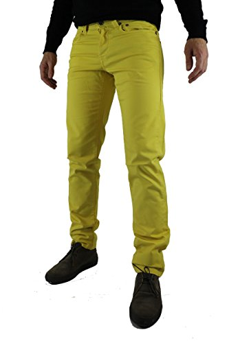 pantaloni uomo SIVIGLIA size 30 giallo cotone AR507