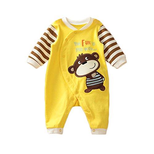 Neonato ragazze ragazzi costumi del bambino del fumetto attrezzatura Pagliaccetto infantile Tutina, 0-3 mesi