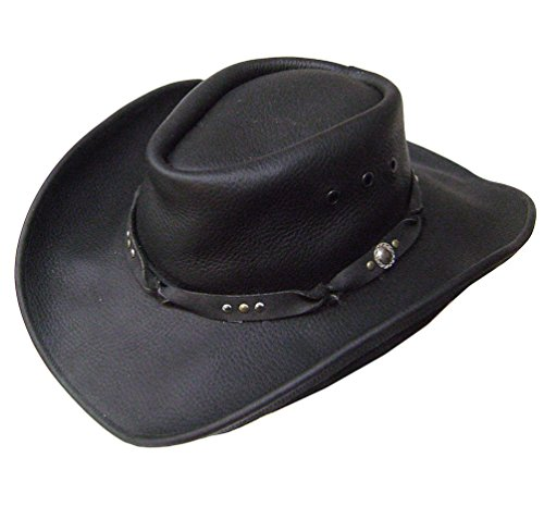 modestone-unisex-leather-sombrero-vaquero-brown-sizes-for-small-heads